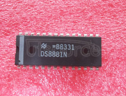 DS8881N Vacuum Fluorescent Display Driver