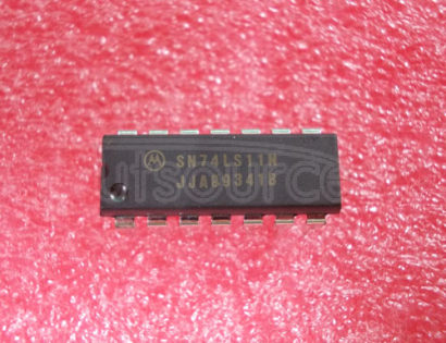 SN74LS11N TRIPLE 3-INPUT POSITIVE-AND GATES