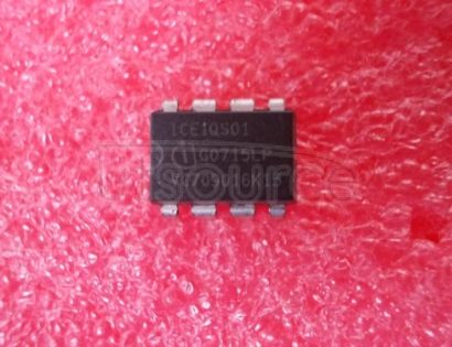 ICE1QS01 PWM-QR<br/> Package: P-DIP-8<br/> Applications: Off-Line SMPS<br/> Output: MOSFET Gate Driver<br/> VCC min: 11.0 V<br/> VCC max: 25.0 V<br/> ICC max: 3.6 mA<br/>