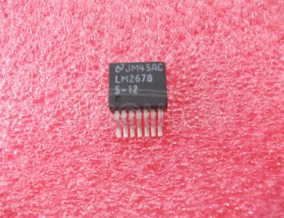 LM2678S-12 IC LOGIC 125 LOW-VOLTAGE SINGLE FET 8-OHM BUS SWITCH -40+85C SOT-23-5 3000/REEL