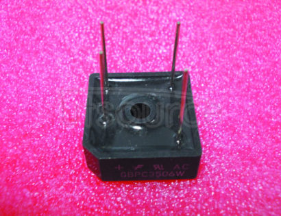 GBPC3506W HIGH   CURRENT   SILICON   BRIDGE   RECTIFIER(VOLTAGE  - 50 to  1000   Volts   CURRENT  - 35  Amperes)