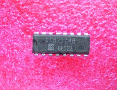 ULN2074B 50V - 1.5A Quad Darlington Switchings50V/1.5A