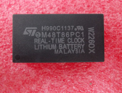 M48T86PC1 5V PC REAL TIME CLOCK