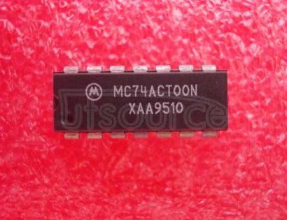 MC74ACT00N QUAD 2-INPUT NAND GATE