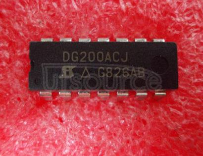 DG200ACJ Dual Monolithic SPST CMOS Analog Switch