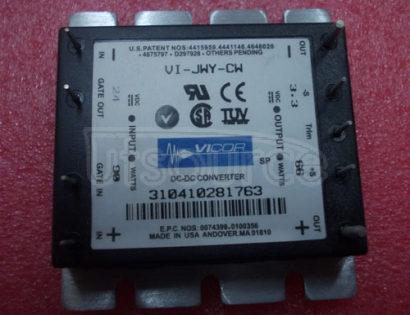 VI-JWY-CW DC-DC   Converters  25 to  100   Watts