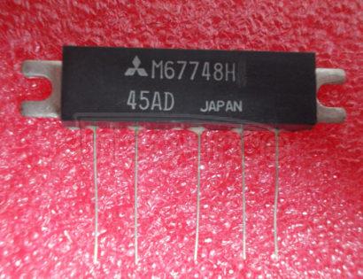 M67748H 150-175MHz, 12.5V, 7W, FM PORTABLE RADIO