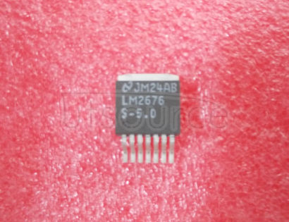 LM2676S-5.0 SIMPLE SWITCHER High Efficiency 3A Step-Down Voltage Regulator