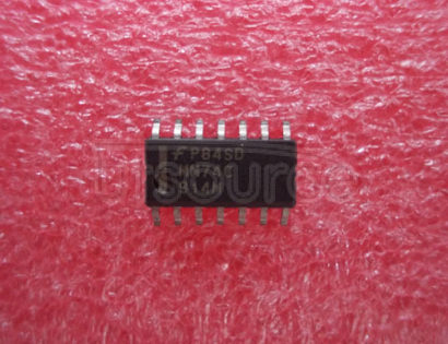MM74C914M Hex Schmitt Trigger with Extended Input Voltage<br/> Package: SOIC<br/> No of Pins: 14<br/> Container: Rail