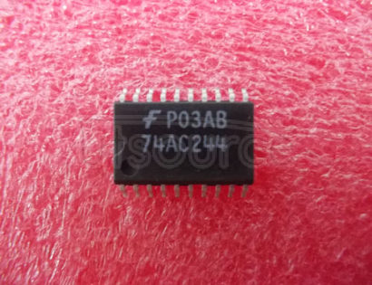 74AC244SC Octal Buffer/Line Driver with 3-STATE Outputs; Package: SOIC-Wide; No of Pins: 20; Container: Rail