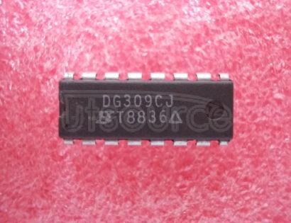 DG309CJ Quad / SPST Analog Switches