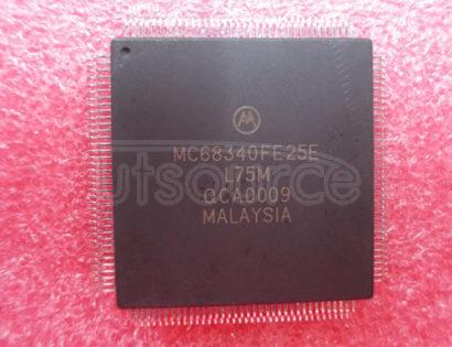 MC68340FE25E 32BIT MPU,DMA,TIMER