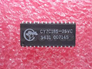 CY7C185-25VC