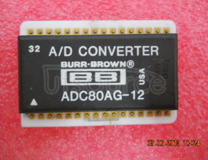 ADC80AG-12 GENERAL   PURPOSE   ANALOG-TO-DIGITAL   CONVERTER