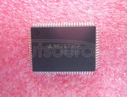 M62433FP DIGITAL SOUND CONTROLLER