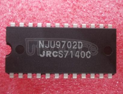 NJU9702D SINGLE CHIP DIGITAL DELAY IC