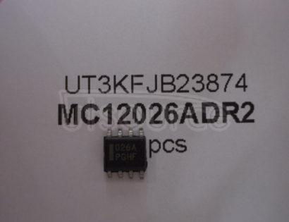 MC12026ADR2 1.1 GHz Dual Modulus Prescaler1.1GHz