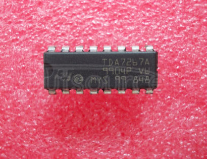 TDA7267A 3W MONO Amplifier