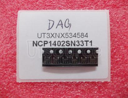 NCP1402SN33T1 200 mA, PFM Step-Up Micropower Switching Regulator200 mA