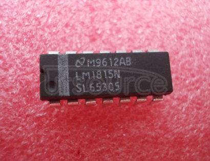 LM1815N Adaptive Variable Reluctance Sensor Amplifier