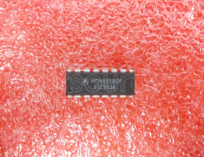 MC14555BCP Dual Binary to 1-of-4 Decoder/Demultiplexer