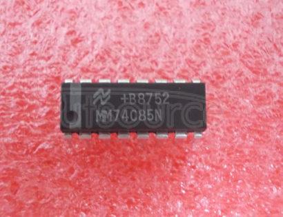 MM74C85N 4-Bit Magnitude Comparator