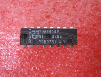 TDA8444 Octuple 6-bit DACs with IIC-busIIC6DAC