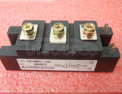CM100DY-12E HIGH POWER SWITCHING USE INSULATED TYPE