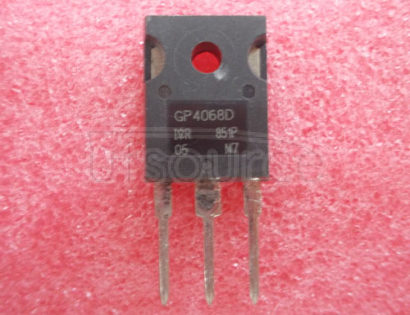 IRGP4068D-EPBF INSULATED   GATE   BIPOLAR   TRANSISTOR   WITH   ULTRA-LOW  VF  DIODE   FOR   INDUCTION   HEATING   AND   SOFT   SWITCHING   APPLICATIONS