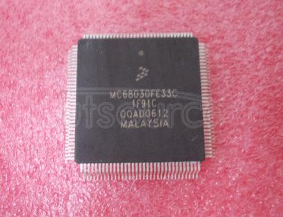 MC68030FE33C 32BIT ON-CHIP CACHE, MMU