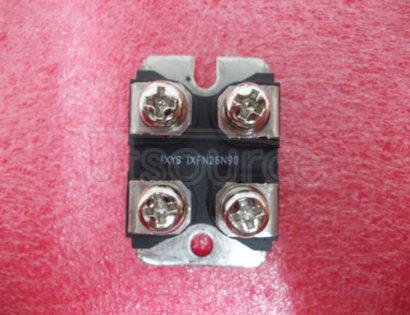 IXFN26N90 N-Channel Enhancement Mode HiPerFET Power MOSFET900V,0.30ΩNHiPerFETMOSFET