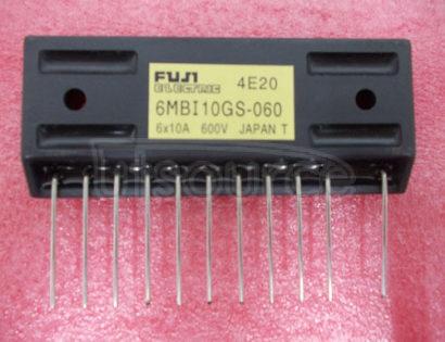 6MBI10GS-060 IGBT MODULE  Single-in-Line