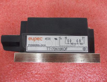 TT170N16KOF SCR / Diode Modules up to 1400V SCR / SCR Phase Control