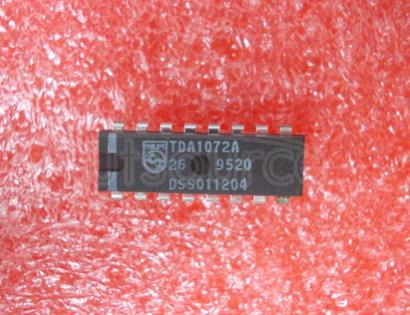 TDA1072A AM receiver circuitAM