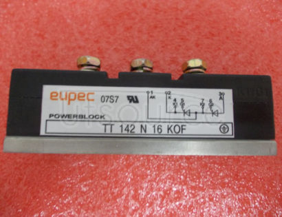 TT142N16KOF SCR / Diode Modules up to 1800V SCR / SCR Phase Control