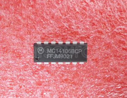 MC14106BCP Hex Schmitt Trigger