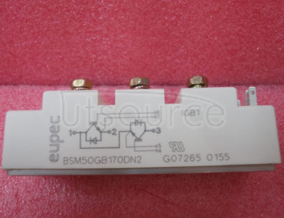 BSM50GB170DN2 IGBT   Power   Module   (Half-bridge   Including   fast   free-wheeling   diodes   Package   with   insulated   metal   base   plate)