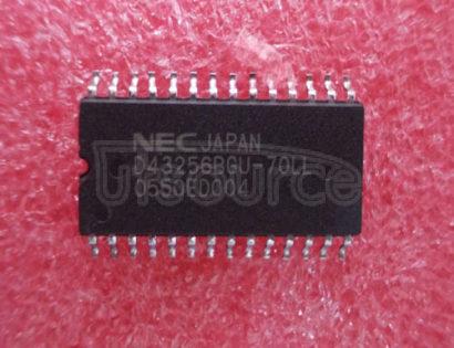 UPD43256BGU-70LL 256K-BIT CMOS STATIC RAM 32K-WORD BY 8-BIT