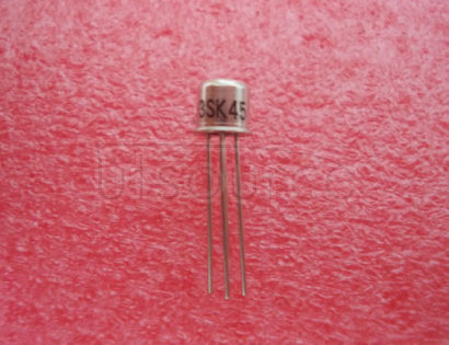 NEC//HIT 3SK45 CAN-4,SILICON N-CHANNEL DUAL GATE MOSFET