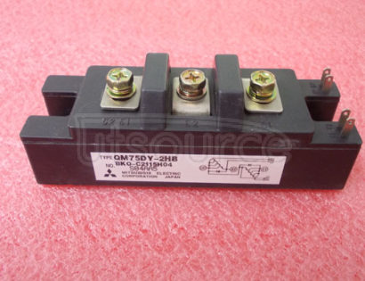 QM75DY-2HB HIGH POWER SWITCHING USE INSULATED TYPE