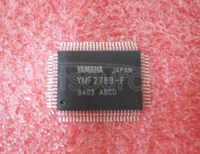 YMF278B-F Sound   Generator   Circuit