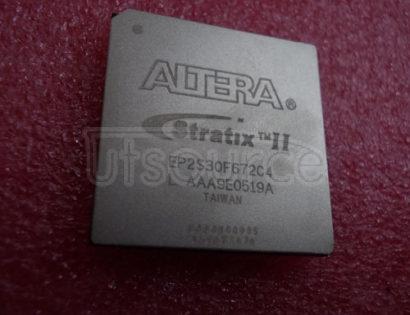 EP2S30F672C4 Stratix II FPGA 30K FBGA-672