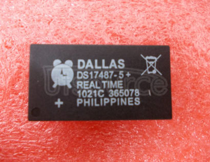 DS17487-5 3V/5V Real-Time Clock