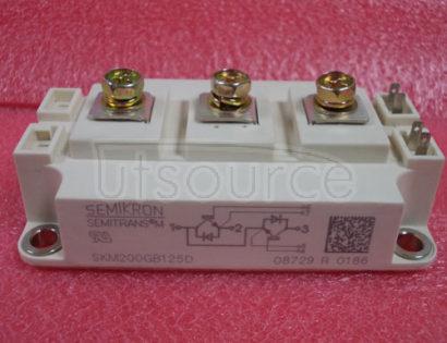 SKM200GB125D Ultra   Fast   IGBT   Modules