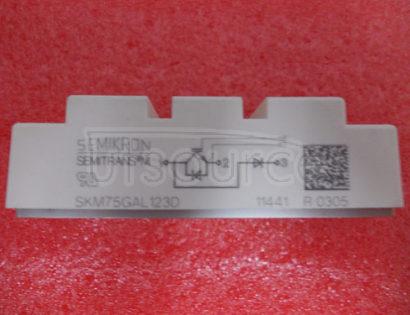 SKM75GAL123D SEMITRANS   IGBT   Modules   New   Range
