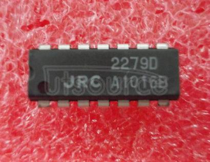 NJM2279D Single, Low-Voltage, Low Power, RRO 5-SC70 -40 to 85