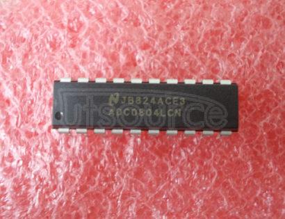 ADC0804LCN CMOS 8-bit A/D converters