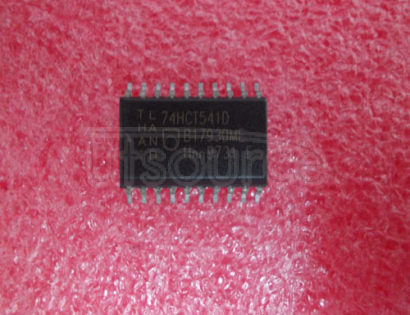 74HCT541D 4-Bit Synchronous Up/Down Counters Dual Clock With Clear 16-SOIC -40 to 85