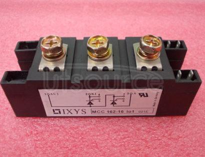 MCC162-16I01 Thyristor Modules Thyristor/Diode Modules
