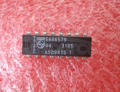 SAA6579 Radio Data System RDSdemodulator